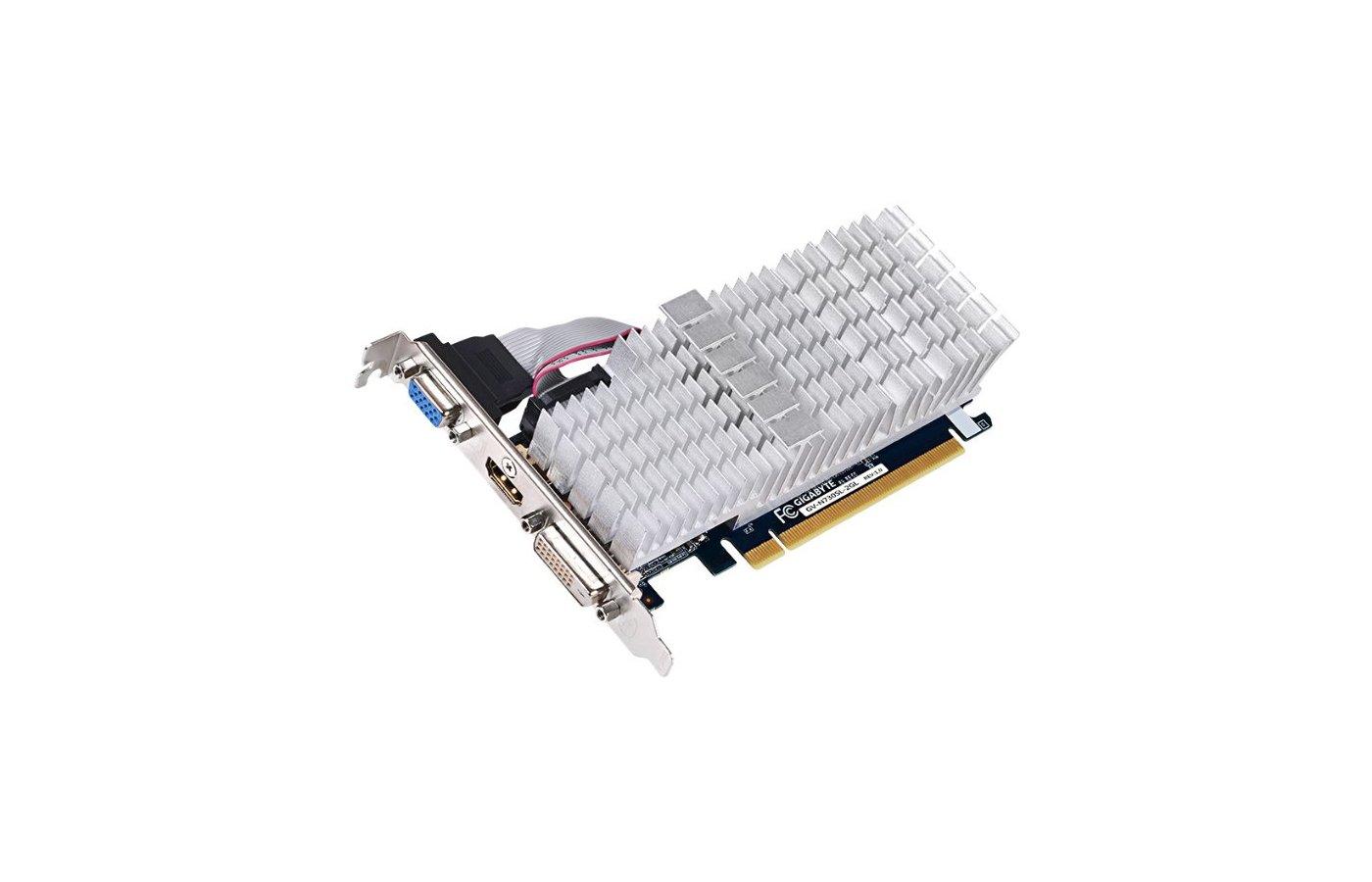 Видеокарта Gigabyte PCI-E GV-N730SL-2GL nVidia GeForce GT 730 2048Mb 64bit Ret