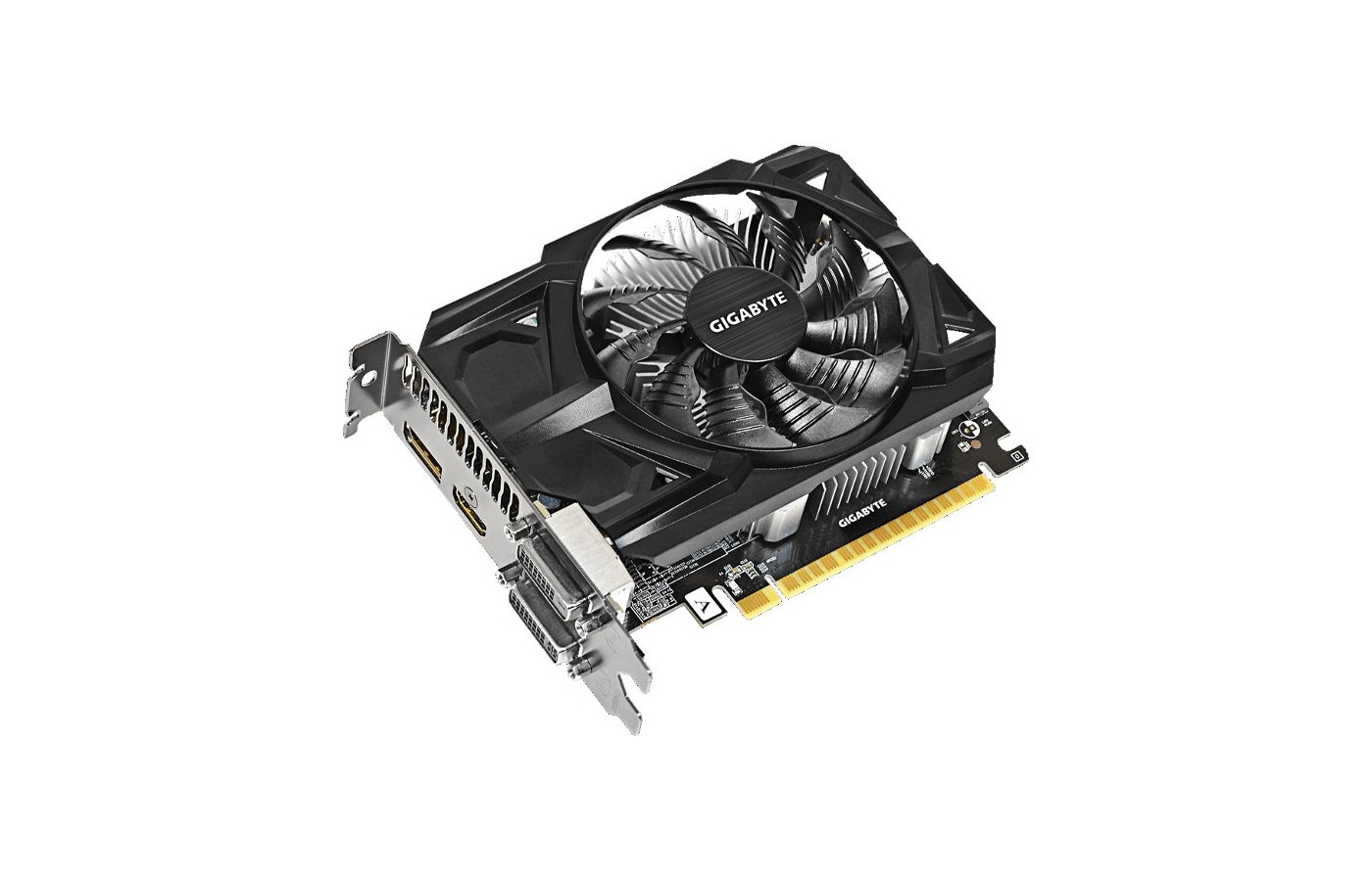 Видеокарта Gigabyte PCI-E GV-R736OC-2GD AMD Radeon R7 360 2048Mb 128bit Ret