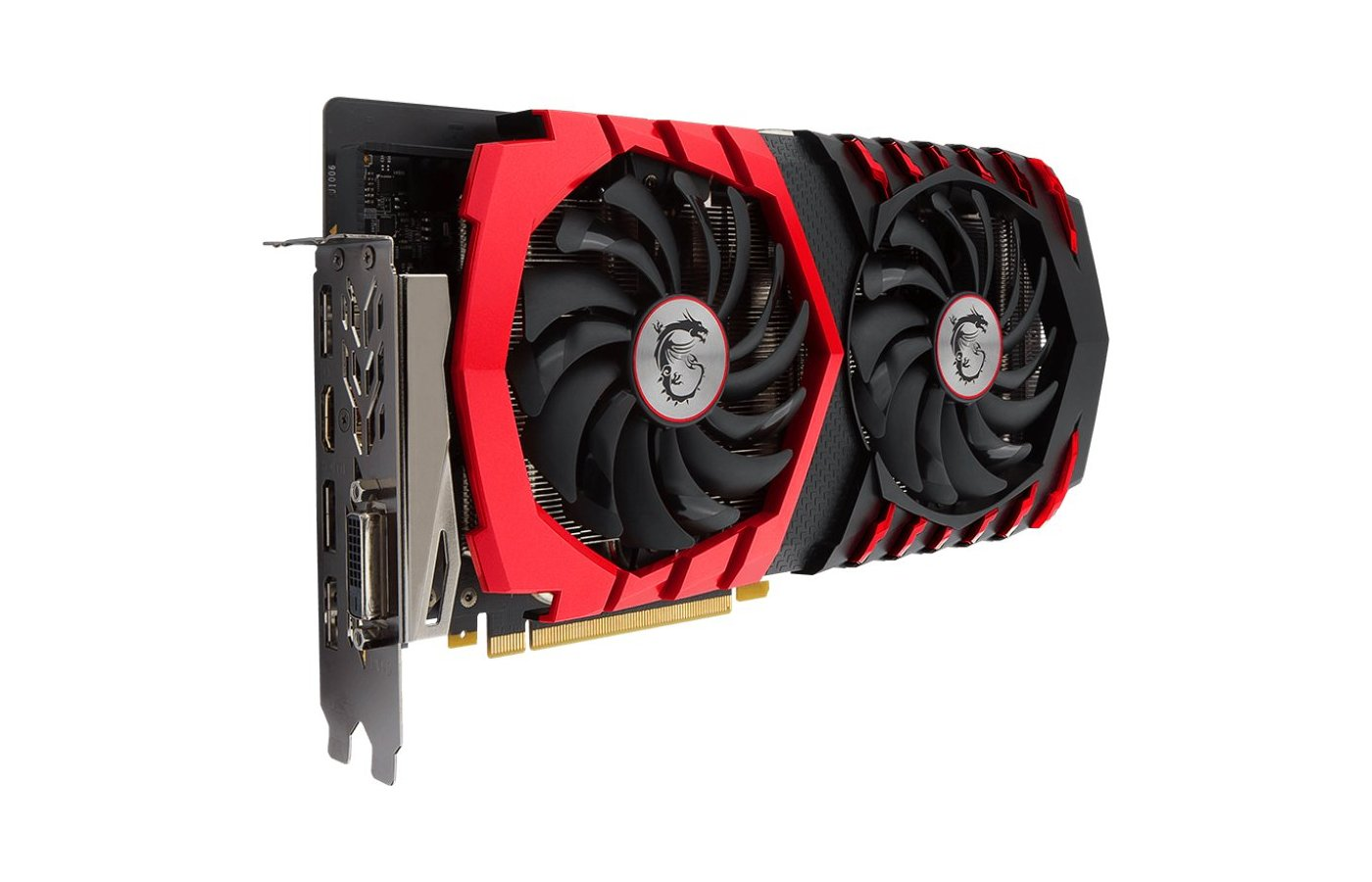 Видеокарта MSI PCI-E GTX 1060 GAMING X 6G nVidia GeForce GTX 1060 6144Mb 192bit Ret