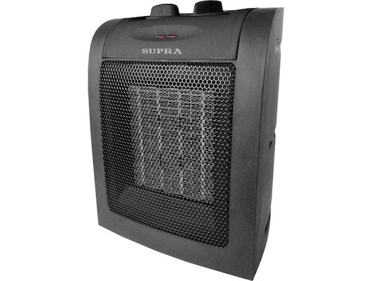 Тепловентилятор SUPRA TVS-15PN black