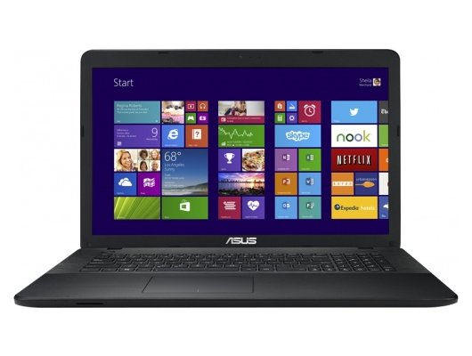 Ноутбук ASUS X751MA-TY304T /90NB0611-M05520/ intel N3540/4Gb/500Gb/DVDSM/17.3HD+/UMA/WiFi/Win10