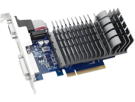 Видеокарта Asus PCI-E GT 710-1-SL nVidia GeForce GT 710 1024Mb 64bit Ret low profile
