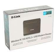 Фото Сетевое оборудование D-Link DSL-2650U/RA/U1A ADSL/Ethernet/3g Router with Wireless N 150