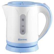 Чайник электрический  ЭЛИС ЭЛ-2033 белый/голубой