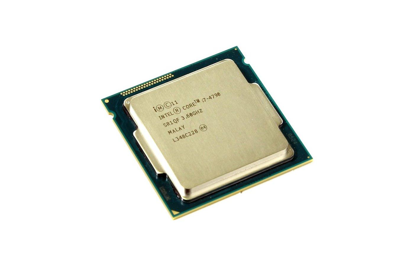 Процессор Intel Core i7 4790 Soc-1150 (BX80646I74790 S R1QF) (3.6GHz/5000MHz/Intel HD 4600) Box