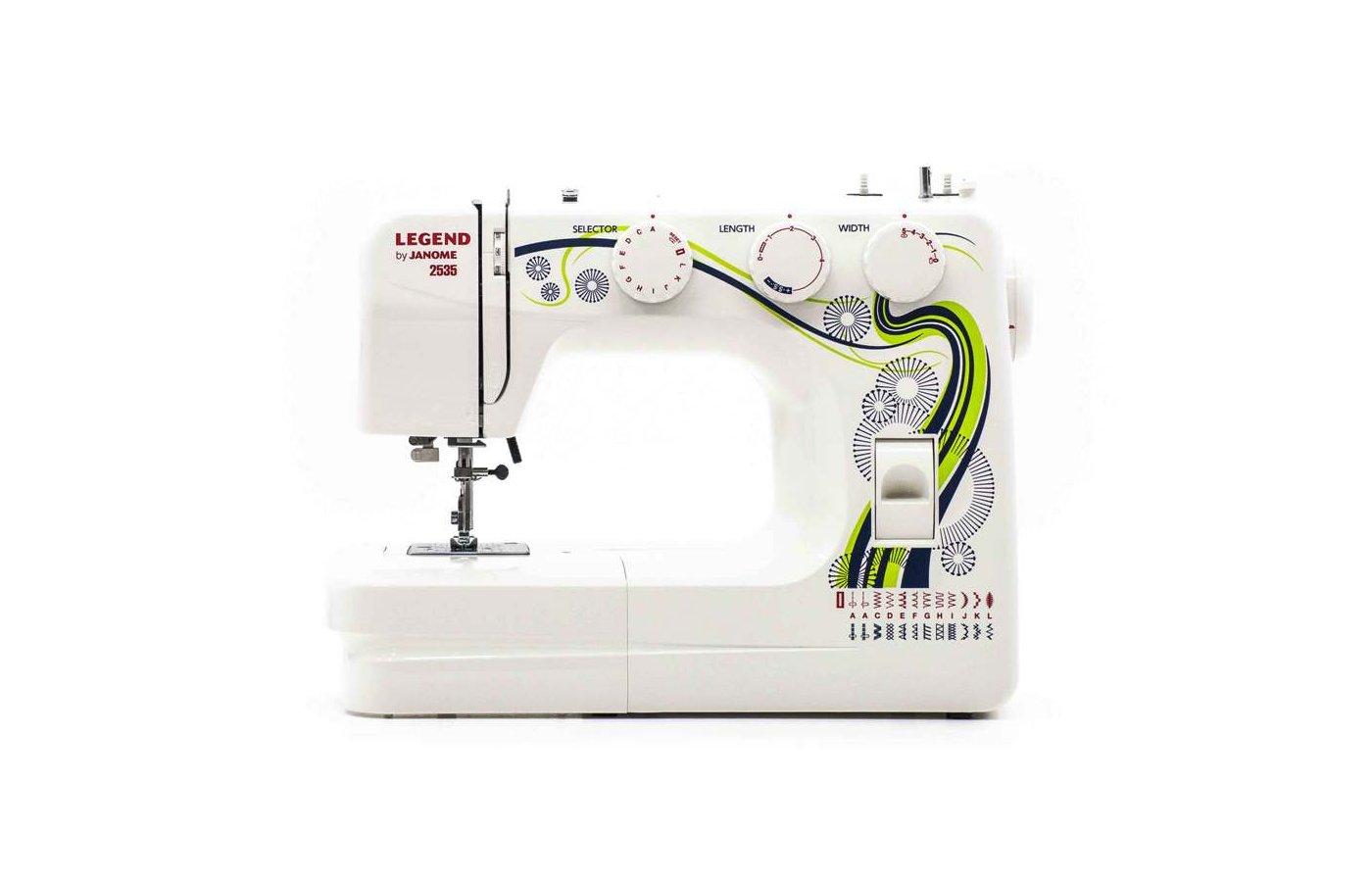 Швейная машина JANOME Legend 2535