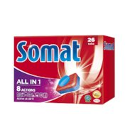 Таблетки для ПММ SOMAT 1077070 ALL in 1 26табл