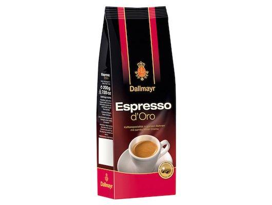 """Кофе в зернах Dallmayr Espresso d""""Oro 200 г в зернах"""