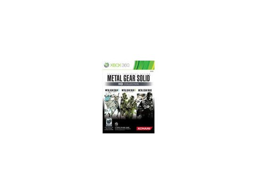 Metal Gear Solid HD Collection Xbox 360 английская версия