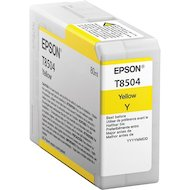 Фото Картридж струйный Epson C13T850400 картридж Yellow UltraChrome HD для SC-P800 желтый