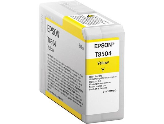 Картридж струйный Epson C13T850400 картридж Yellow UltraChrome HD для SC-P800 желтый