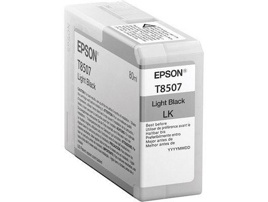 Картридж струйный Epson C13T850700 картридж Light Black UltraChrome HD для SC-P800 серый