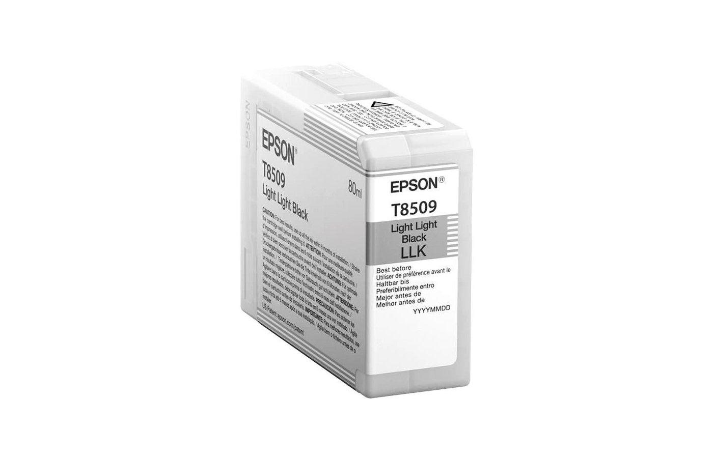 Картридж струйный Epson C13T850900 картридж Light Light Black UltraChrome HD для SC-P800 светло-серый