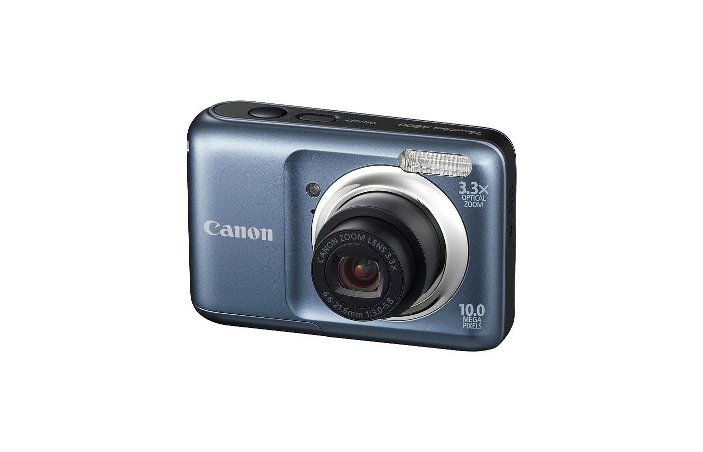 Фотоаппарат компактный CANON Power Shot A800 black