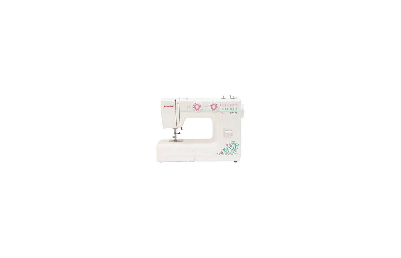 Швейная машина JANOME LW 30