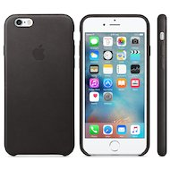 Чехол Apple iPhone 6/6S Leather Case Black (MKXW2ZM/A)