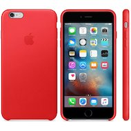 Чехол Apple iPhone 6/6S Plus Leather Case RED (MKXG2ZM/A)