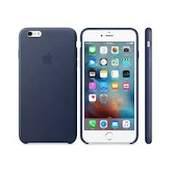 Чехол Apple iPhone 6/6S Plus Leather Case Saddle Midnight Blue (MKXD2ZM/A)