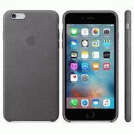 Чехол Apple iPhone 6/6S Plus Leather Case Storm Gray (MM322ZM/A)