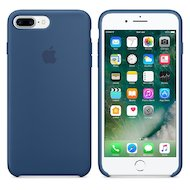 Чехол Apple iPhone 7 Plus Leather Case Midnight Blue (MMYG2ZM/A)