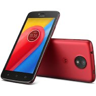 Смартфон Motorola MOTO C Plus red