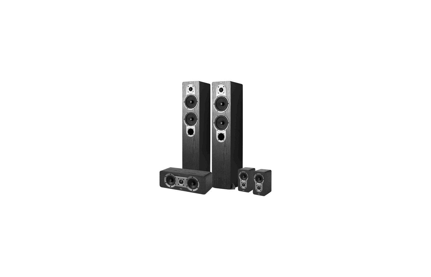 Комплект акустики JAMO S 426 HCS 3 black