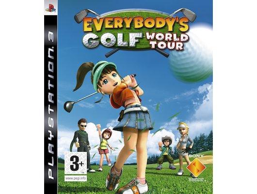 Everybodys Golf World Tour PS3 английская версия