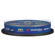 Фото CD-диск Диск CD-R 700Mb Verbatim 52x DataLife Slim 43347 (за 1 диск)