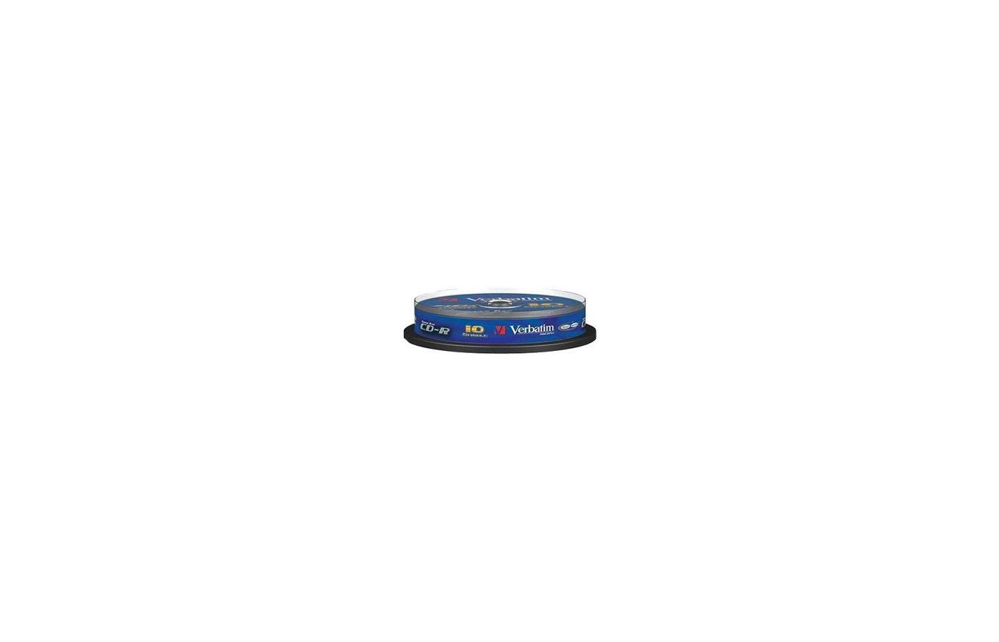 CD-диск Диск CD-R 700Mb Verbatim 52x DataLife Slim 43347 (за 1 диск)