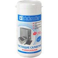 Фото Чистящее средство Defender CLN30100 Салфетки чистящие влажные универсальные в тубе (110шт)