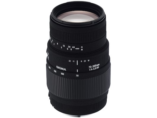Объектив Sigma AF 70-300mm f/4-5.6 APO DG MACRO PENTAX