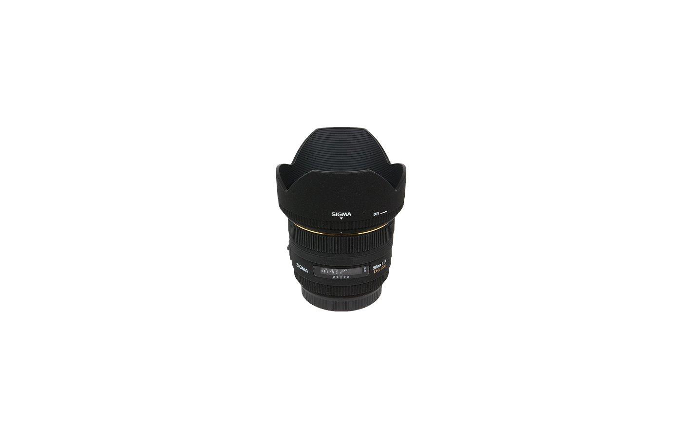 Объектив Sigma AF 50mm F/1.4 DG HSM/A NIKON