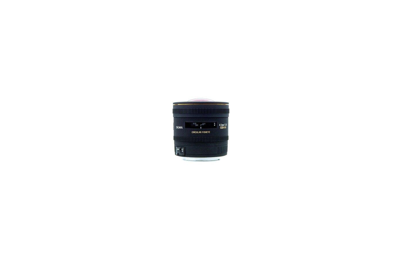 Объектив Sigma AF 4.5mm f/2.8 EX DC Circular Fisheye HSM для NIKON