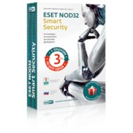 Компьютерное ПО ESET NOD32 Smart Security+Bonus+расшир.функ.-универсальная лицензия на 1 год на 3ПК или прод. на 20м