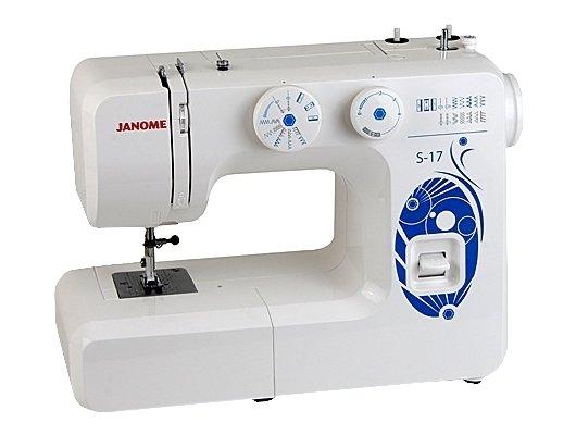 Швейная машина JANOME S 17