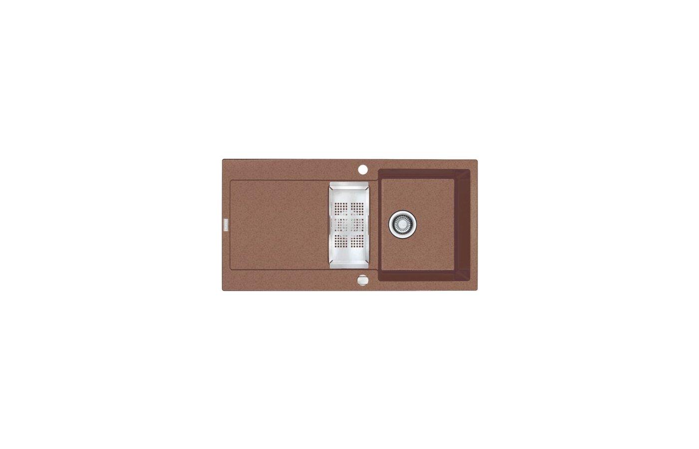 Кухонная мойка FRANKE MRG 651 шоколад