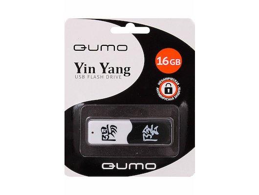 Флеш-диск USB 2.0 QUMO 16GB USB 2.0 ИНЬ ЯН