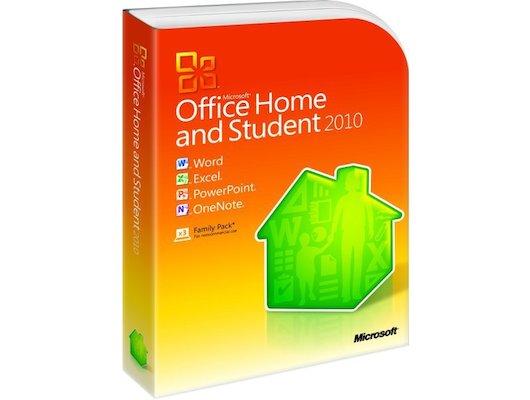 Компьютерное ПО MS Office Home and Student 2010 32-bit/x64 Russian Russia DVD (N579G02142)