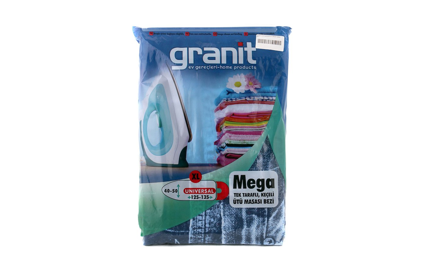 Чехлы и принадлежности для глажки GRANIT MEGA 2511