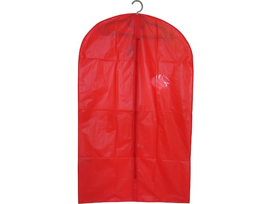 Емкости для хранения одежды РЫЖИЙ КОТ Чехол для одежды подвесной GCP-60х100 ПЕВА р-р: 60х100см красный