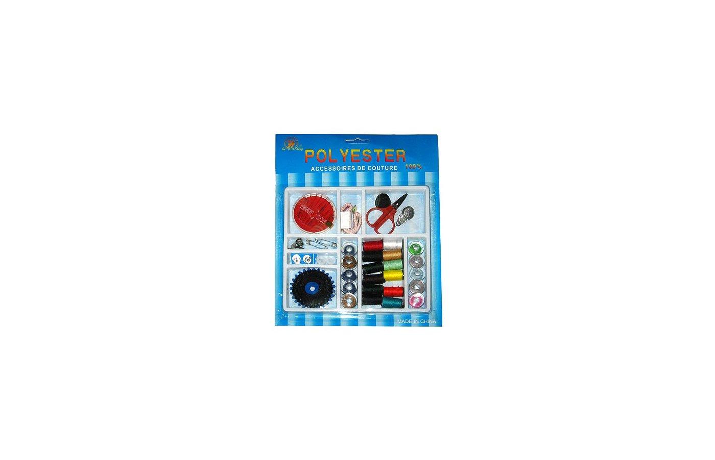 Аксессуары для швейных машин GALA 308-023 Набор для шитья на блистере (9 отделений) WZ-45