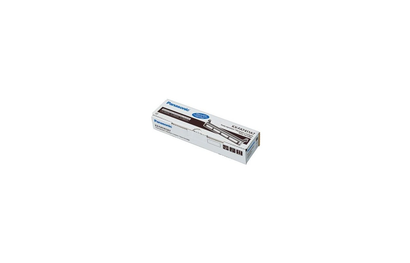 Картридж лазерный Panasonic KX-FAT411A для KX-MB2000/2010/2020/2030 (2 000 стр)