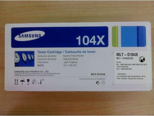 Картридж лазерный Картридж Samsung MLT-D104X