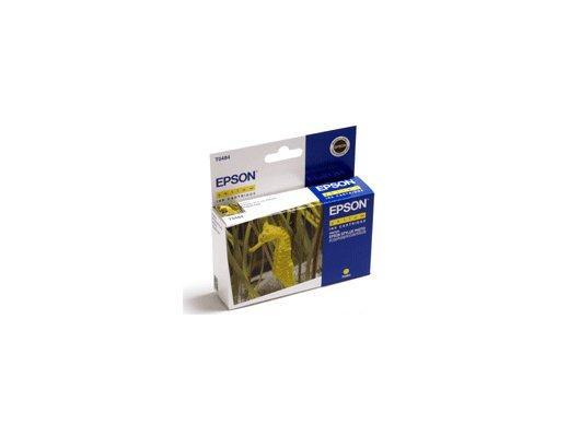 Картридж струйный Epson C13T06344A желтый для Stylus C67/C87 CX3700/CX4100/CX4700