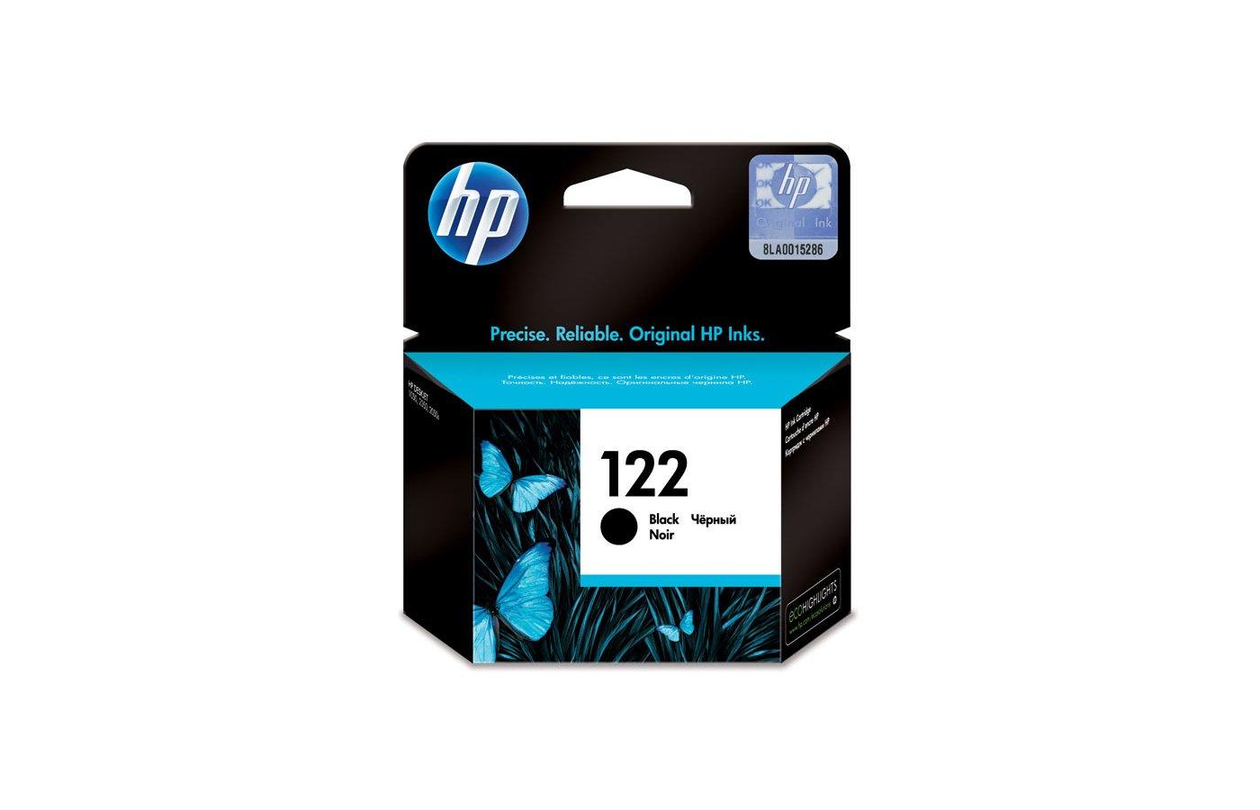 Картридж струйный HP CH561HE 122 Black Ink