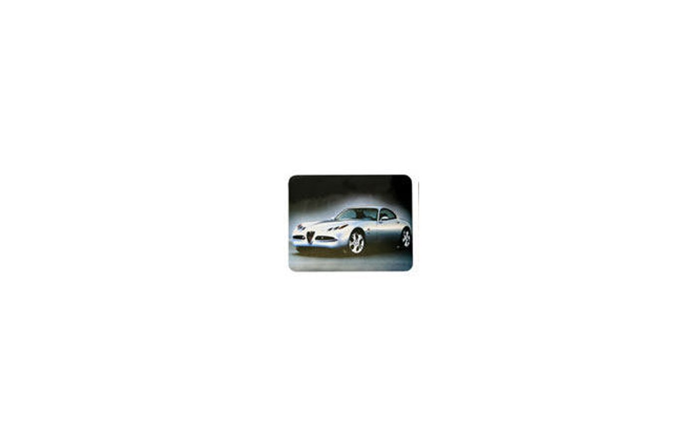 Коврик для мыши BURO BU-M90002 пластиковый автомобиль (230x180x2)