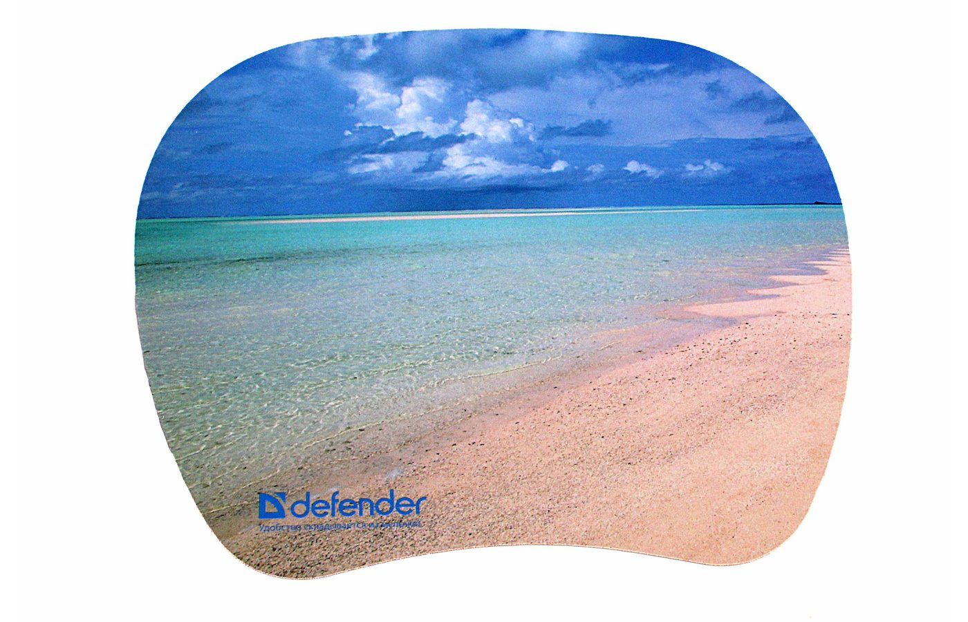 Коврик для мыши Defender TURBO пластиковый 210х175х1.2 50603