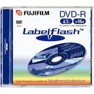 Фото DVD-диск Диск DVD-R Fujifilm 4.7Gb 16x Jewel Case 1 шт 47586