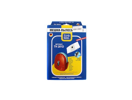 Пылесборники TOP HOUSE 64638 TH 201 D Для Scarlett Vitek... 5 шт+1 м/фильтр