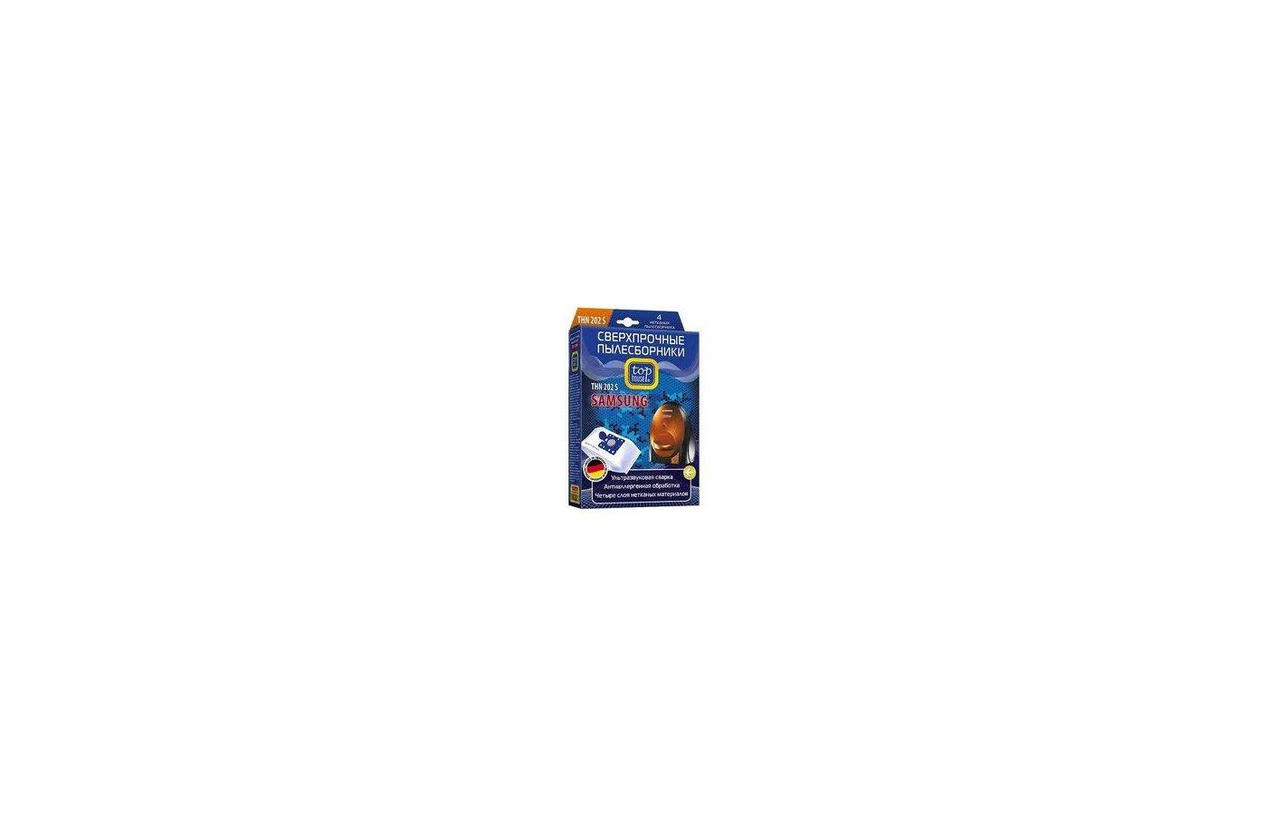 Пылесборники TOP HOUSE 64928 THN 202 S Для Samsung тип VP-95 4 шт + микрофильтр